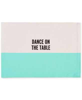kate spade new york Food for Thought Dance on the Table Placemat