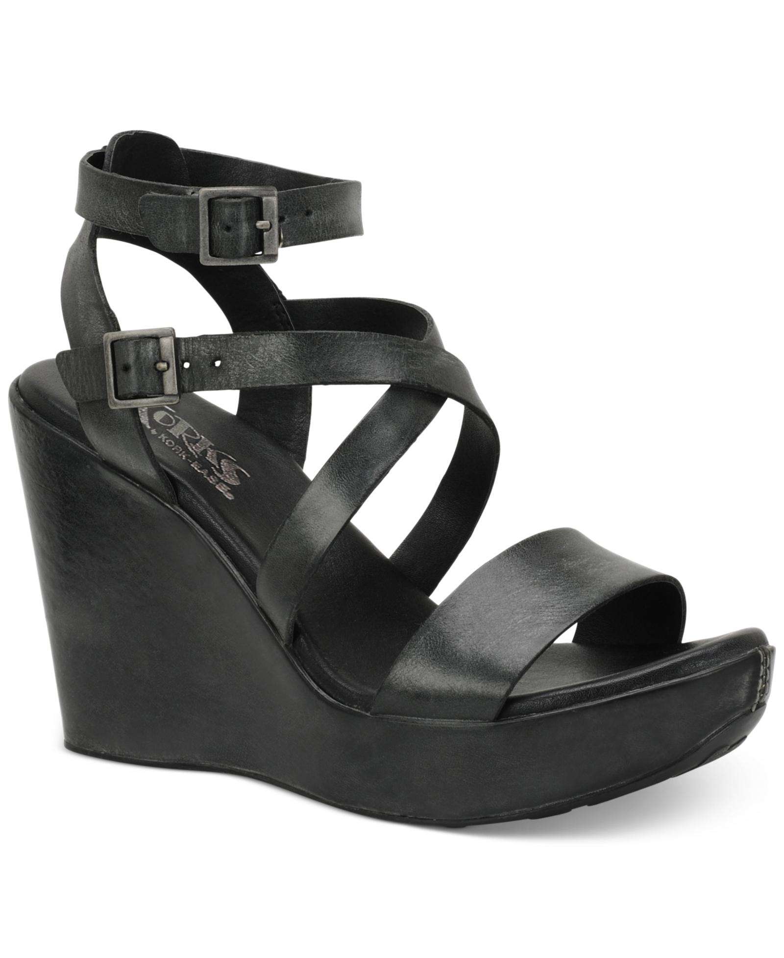 88b5c8ddfa9e Korks by Kork-Ease Kaylen Platform Wedge Sandals Women s Shoes ...