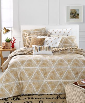 CLOSEOUT! Whim by Martha Stewart Collection Bespeckled Full/Queen 5-Pc Duvet Set, Only at Macy's