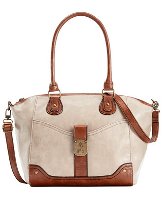 Style&co. Twistlock Satchel Crossbody