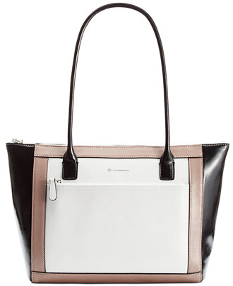 Giani Bernini Florentine Glazed Leather Colorblock Tote