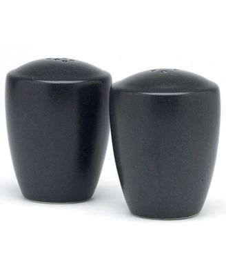 "Noritake ""Colorwave Graphite"" Salt & Pepper Set, 3 3/8"""
