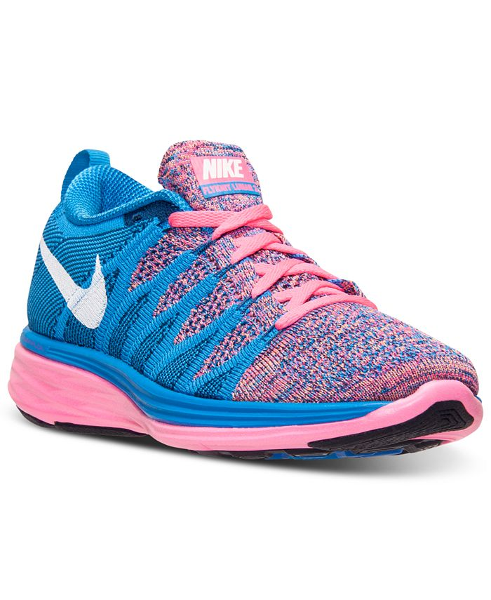 Nike - Women's Flyknit Lunar 2 Running Sneakers from Finish Line