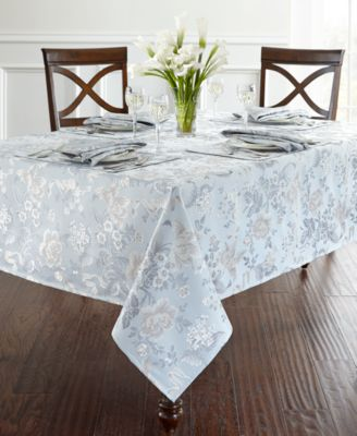 "Waterford Eva 70"" x 84"" Tablecloth"