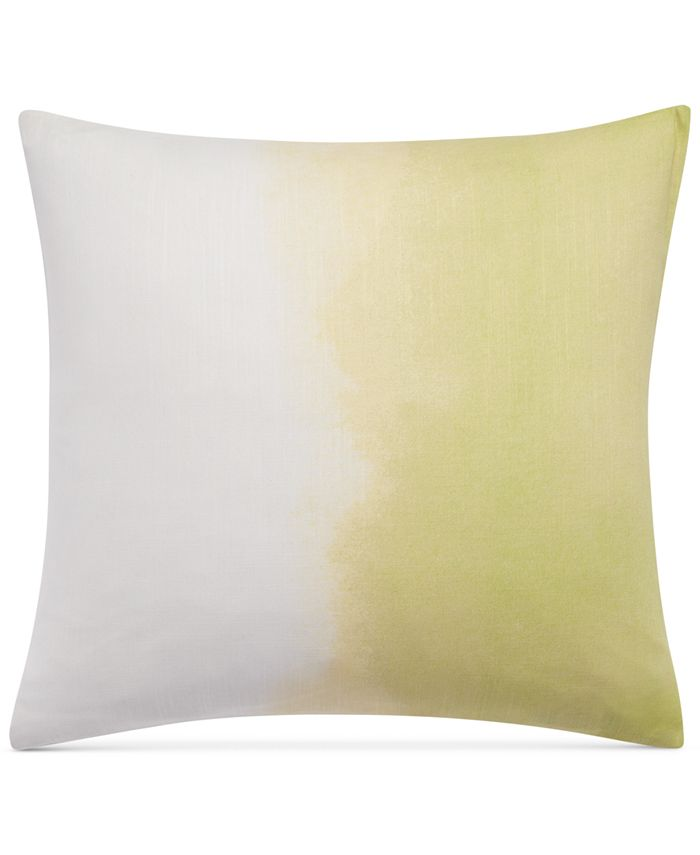 """bluebellgray - Paint Box Ombre Printed 18"""" Square Decorative Pillow"""