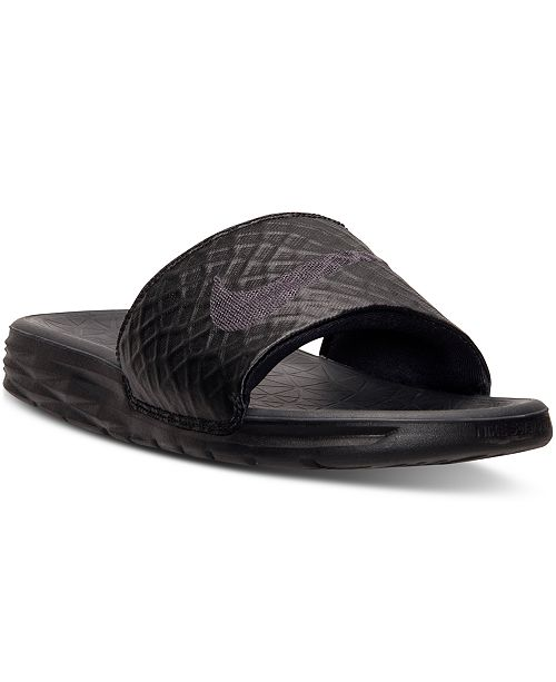 Nike Men's Benassi Solarsoft Slide 2 Sandals from Finish Line ...