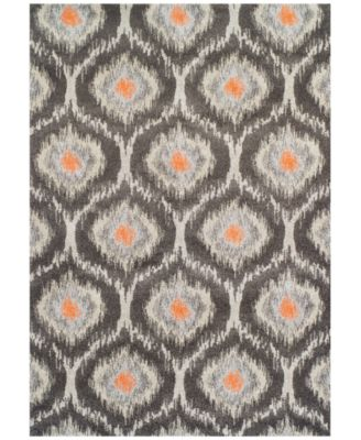 "Dalyn Neo Grey Grate Pewter 5'3"" x 7'7"" Area Rug"