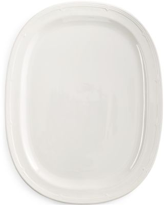 Martha Stewart Collection Whiteware Serving Platter