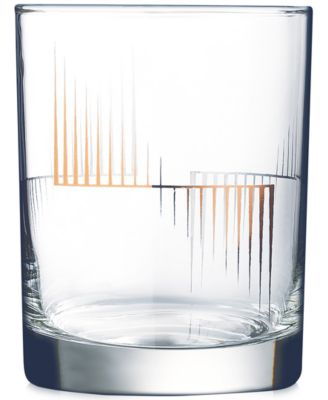 Luminarc Scala Double Old Fashioned Glasses, Set of 4