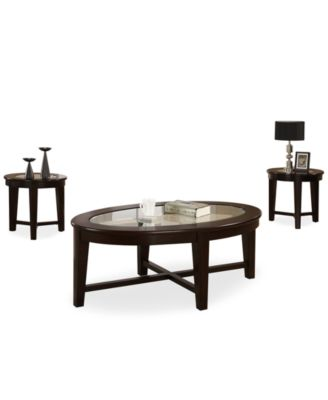 Takoma 3 Piece Occasional Table Set, Direct Ship