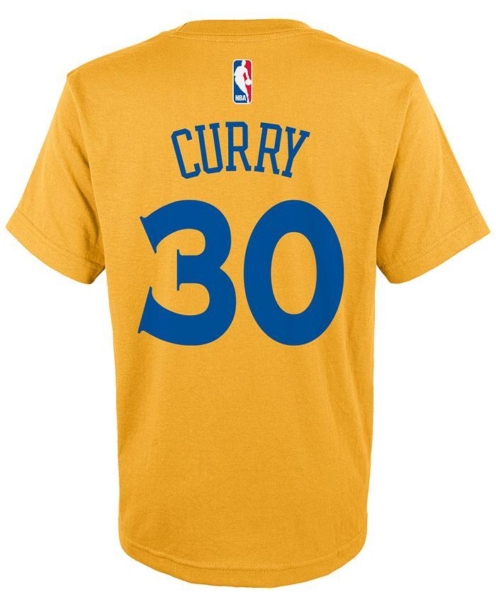 adidas - Kids' Stephen Curry Golden State Warriors Player T-Shirt