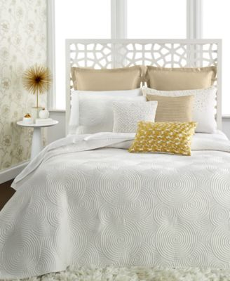 INC International Concepts Prosecco King Coverlet