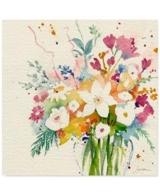 "'Dream Bouquet' Canvas Print by Sheila Golden, 18"" x 18"""