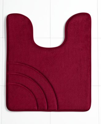 "CLOSEOUT! Sunham Inspire Memory Foam 21"" x 24"" Contour Bath Rug, Only at Macy's"