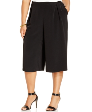 Calvin Klein Plus Size Gaucho Pants