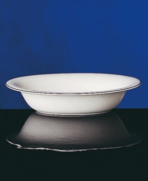 "Wedgwood ""Signet Platinum"" Medium Open Oval Vegetable Bowl"