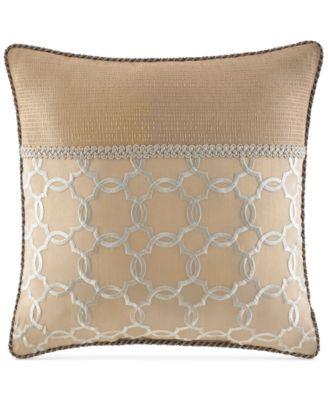 """CLOSEOUT! Croscill Cecilia 16"""" Square Decorative Pillow"""