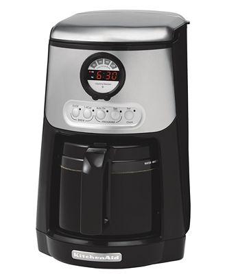 Kitchenaid Coffee Maker Not Hot Enough : KitchenAid KCM534 14 Cup Programmable Coffee Maker - Coffee, Tea & Espresso - Kitchen - Macy's