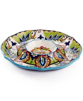 Espana Bocca Chip & Dip Serving Dish