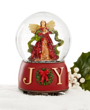 Holiday Lane Angel Joy Musical Snow Globe, Only at Macy's
