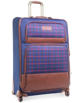 "CLOSEOUT! 60% Off Tommy Hilfiger Perfect Plaid 28"" Spinner Suitcase, Only at Macy's"