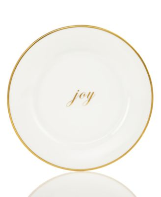 Charter Club Holiday Joy Plate, Only at Macy's