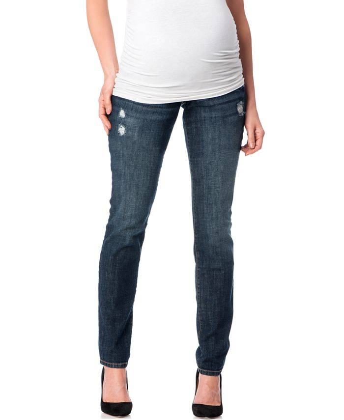 Motherhood Maternity - Maternity Skinny Jeans, Dark Wash