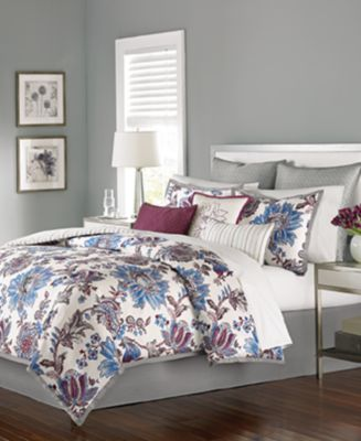 CLOSEOUT! Martha Stewart Collection Austen 9-Pc. Queen Comforter Set