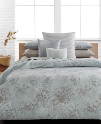 Calvin Klein Presidio Queen Duvet Cover Set