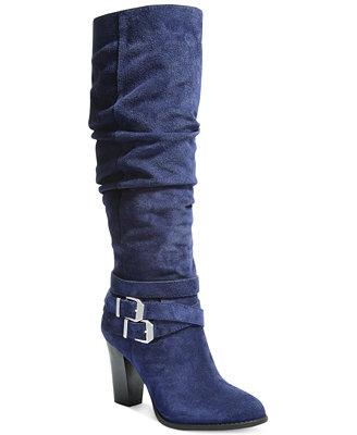 Unique Alfani Women39s Junipper Wide Calf Dress Boots  Shoes  Macy39s
