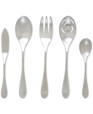 Knork 18/0 Stainless Steel Matte 5-Pc. Serving Set