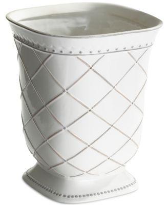 CLOSEOUT! Kassatex Madeline Waste Basket