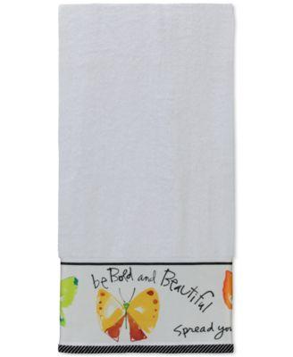 """Creative Bath Flutterby 25"""" x 50"""" Bath Towel"""