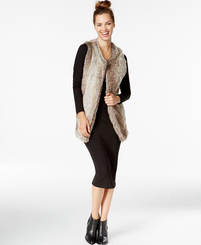INC International Concepts - Long Collarless Vest