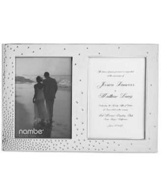 Namb® Dazzle Double Invitation Frame
