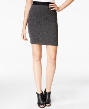Maison Jules Jacquard Pencil Skirt, Only at Macy's