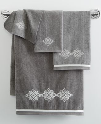 Riverview Embroidered Hand Towel