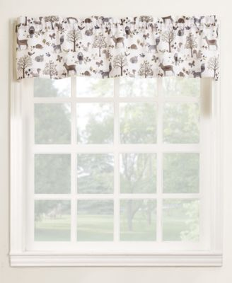"Lichtenberg Forest Friends 56"" x 14"" Valance"