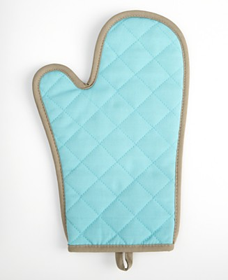 Martha Stewart Collection Blue/Taupe Oven Mitt - Storage & Textiles - Featured Categories  - Macy's :  blue baking martha stewart taupe