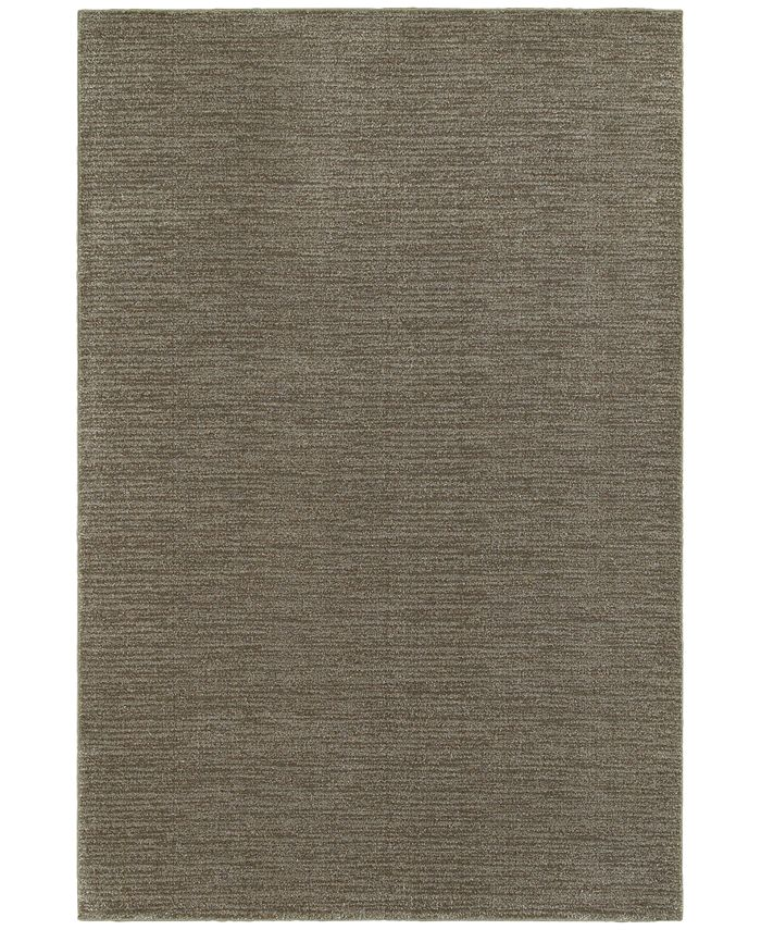 "JHB Design - Tidewater  Casual Grey/Brown 6'7"" x 9'6"" Area Rug"