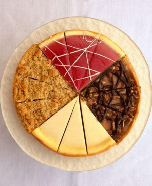 "Eli's Cheesecake, 8"" Original Sampler Cheesecake"