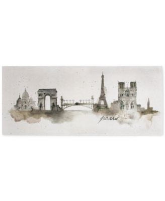 Graham & Brown Paris Watercolor Wall Art