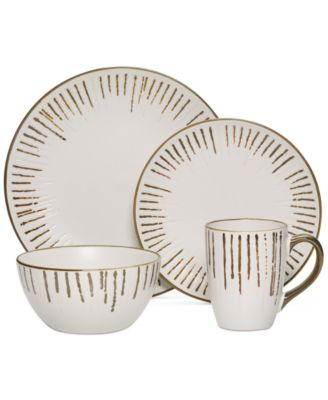Gourmet Basics by Mikasa Delancey 16-Pc. Set, Service for 4
