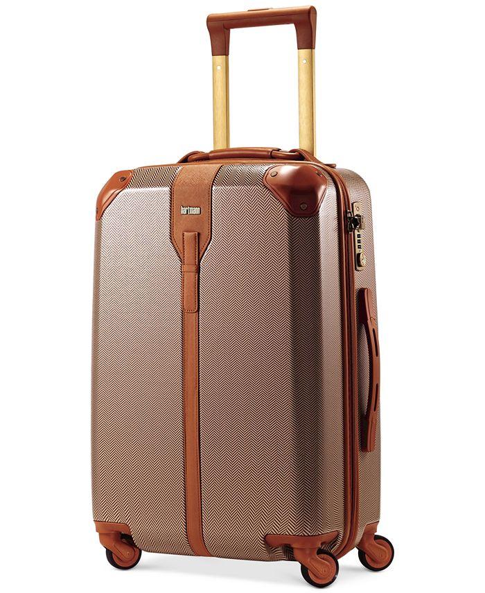 "Hartmann - Herringbone Luxe Hardside 21"" Carry On Spinner Suitcase"