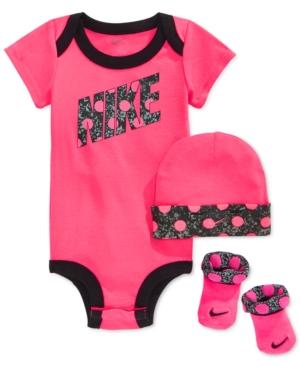0e8f354657850 ... UPC 807748065786 product image for Nike Baby Girls  3-Piece Dot  Bodysuit