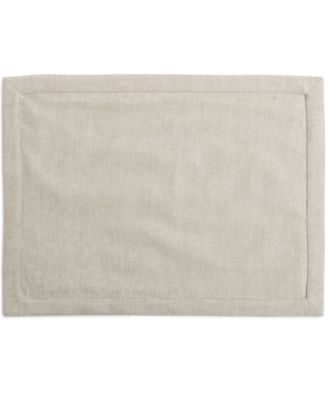Hotel Collection Linen Modern Natural Placemat, Only at Macy's