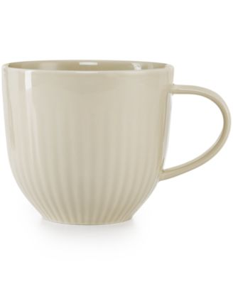 Hotel Collection Modern Bisque Dinnerware Porcelain Mug, Only at Macy's