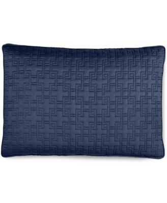 Hotel Collection Embroidered Frame Quilted King Sham, Only at Macy's