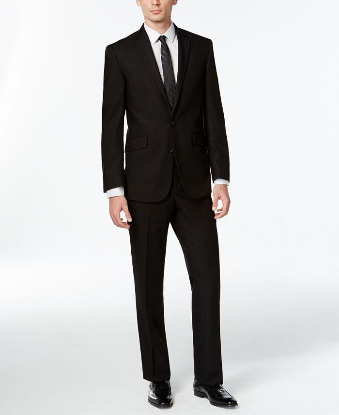 Kenneth Cole Reaction - Slim-Fit Black Suit