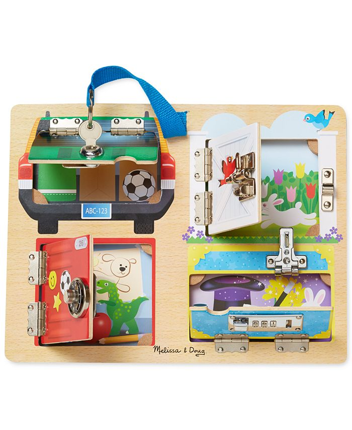 Melissa and Doug - Kids' Locks & Latches Board